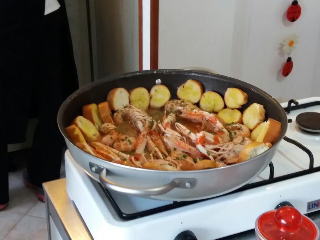 """corso di cucina triestina:  il """"brodeto"""" di pesce"""