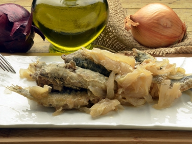 corso di cucina triestina: i sardoni in savor