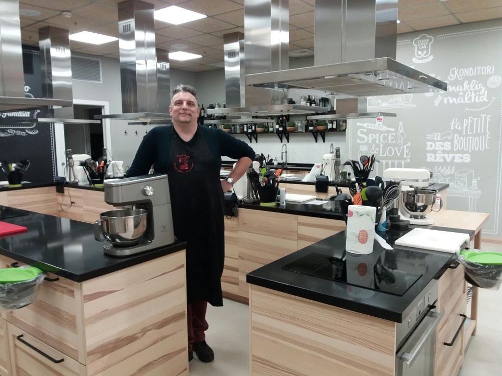 Giuliano in cucina